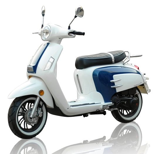 wk bellissima 125cc retro scooter modern scooters. Black Bedroom Furniture Sets. Home Design Ideas