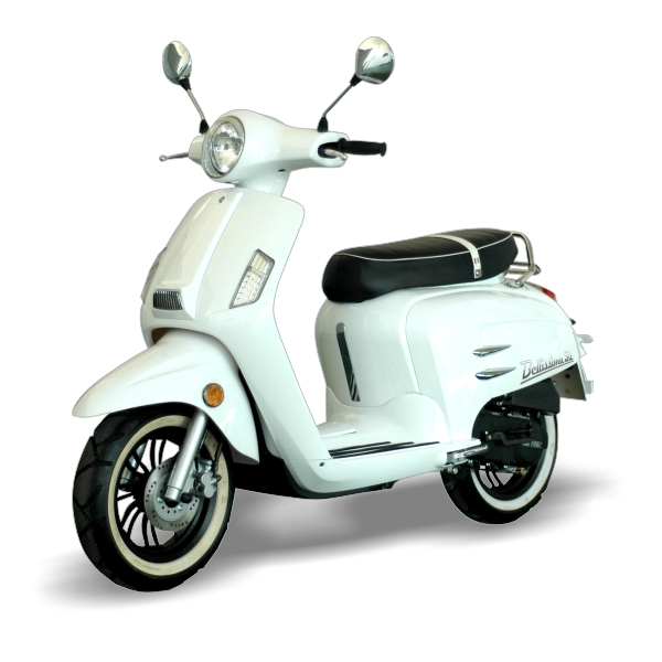 wk bellissima 50cc retro scooter modern scooters. Black Bedroom Furniture Sets. Home Design Ideas
