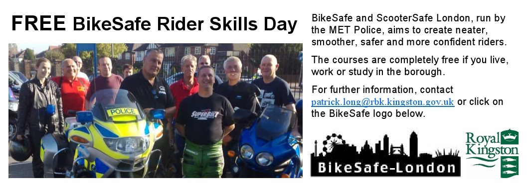 Bike Safe – FREE rider training.