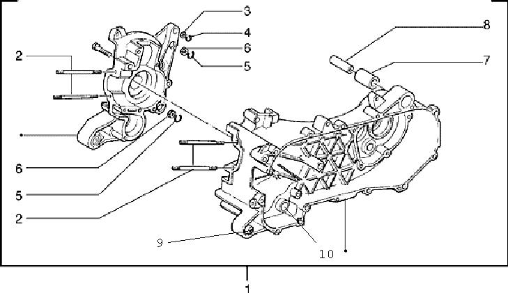 Crankcase-1 125 2T