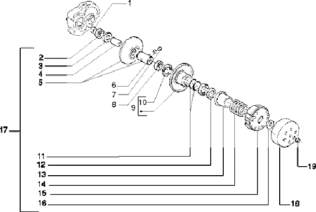 Driven Pulley diagram