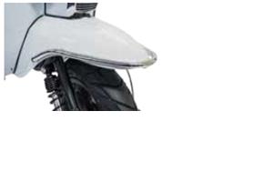 Scomadi bumper guard chrome