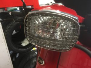 scomadi Headlamp grille