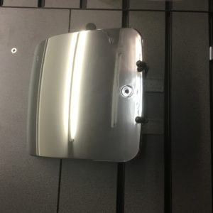 Scomadi chrome battery door