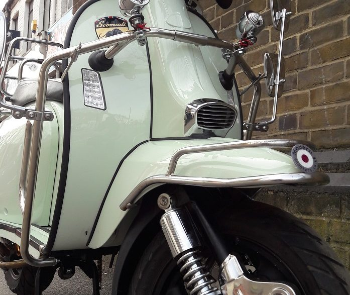 MODERN SCOOTERS MS7 CUSTOM PROJECT COMPLETED!!